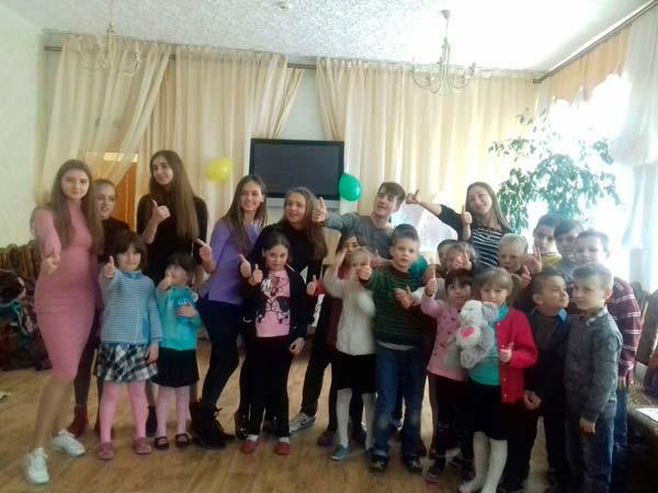 Щастя в дитячих долоньках