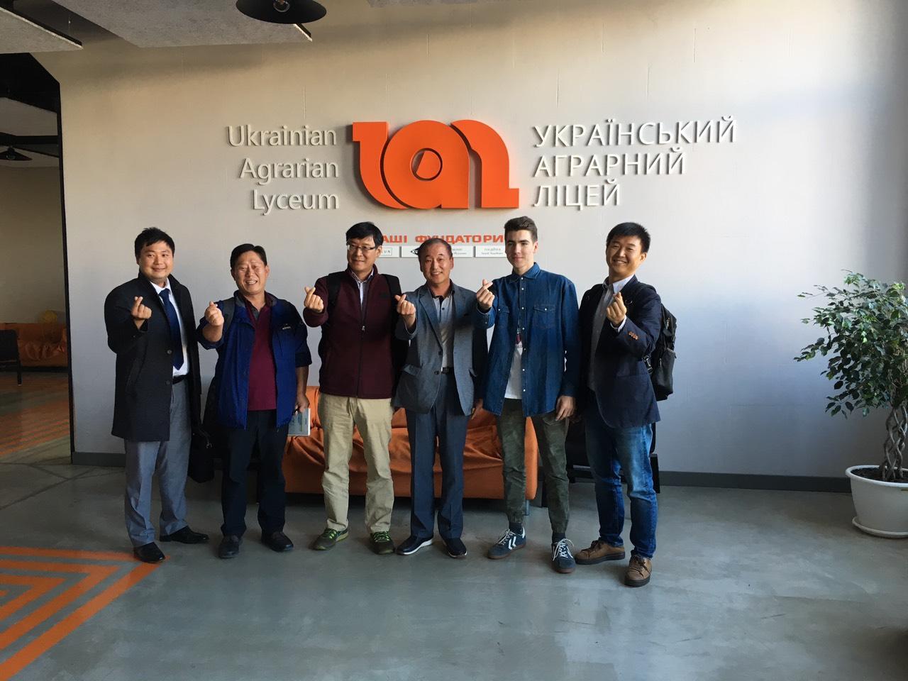 Корейська делегація завітала в ліцей